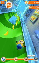 Despicable Me: Minion Rush Android Going down a slide. Here there are no lanes.