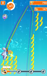 Despicable Me: Minion Rush Android The fluffy unicorn mini-game