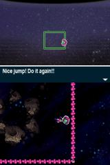 Mighty Milky Way Nintendo DSi When you jump off the same planet twice, it is destroyed.