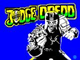 Judge Dredd ZX Spectrum Title screen
