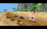 Beach Buggy Racing Android Preparing for the race.