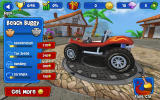 Beach Buggy Racing Android Overview of a car's statistics