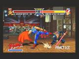 Real Bout Fatal Fury Special SEGA Saturn Practice Mode (Lawrence Blood vs Billy Kane)