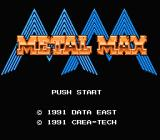 Metal Max NES Title screen