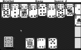 "Hoyle: Official Book of Games - Volume 2: Solitaire Atari ST ""Bristol"" game (Monochrome)"