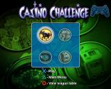 Casino Challenge PlayStation 2 There are four games to choose from, this is the game selection screen