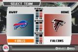 Madden NFL 07 Game Boy Advance Team selection.
