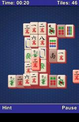 Mahjong Android The tiles fly off the screen when matched. (Time Attack mode)
