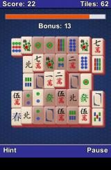 Mahjong Android Playing in Challenge mode, with a countdown bar visible on top of the screen.