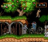 Super Ghouls 'N Ghosts SNES The first level