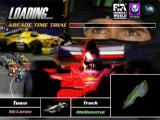 Formula 1 98 PlayStation This is one of the game's load screens<br>The player has selected an Arcade Time Trial on the Australian circuit