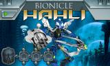 BIONICLE Mahri: Command Toa Hahli Browser Title screen.