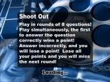 The Ultimate TV & Film Quiz PlayStation 2 The descriptive load screen for the Shoot Out game mode