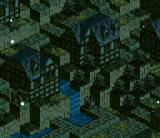 Tactics Ogre  SNES City at night