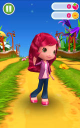 Strawberry Shortcake: Berry Rush Android Playing with a different character.