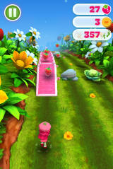 Strawberry Shortcake: Berry Rush Browser Run over the bridge and collect the strawberries.