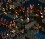 Tactics Ogre  SNES Destroyed city