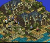 Tactics Ogre  SNES Moving your character in battle