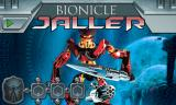 BIONICLE Mahri: Command Toa Jaller Browser Title screen.
