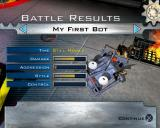 Robot Wars: Arenas of Destruction PlayStation 2 The end of match statistics