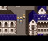 Mystic Ark SNES The priestess in her home town