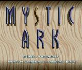 Mystic Ark SNES Title screen