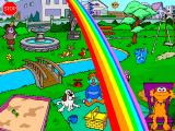 Sesame Street: Let's Make a Word! Windows Zoe in the Park #2 (AKA Whoa! A Rainbow!)