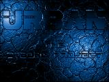 U.R.B.A.N The Cyborg Project DOS Bump-mapping effects in the credits