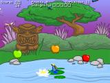 Frog Fractions Browser I start in a pond with slowly-ripening apples.