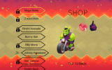 Hellrider Android The shop where you can unlock bonuses and new riders.