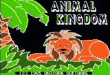 The Wonders of The Animal Kingdom Apple II Title screen