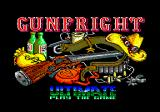 Gunfright Amstrad CPC Title screen