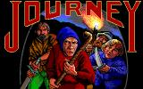 Journey: The Quest Begins DOS Title screen (EGA)
