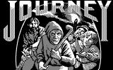 Journey: The Quest Begins DOS Title screen (CGA)