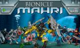 BIONICLE Mahri: Command the Toa Mahri - The Final Challenge Browser Title screen.