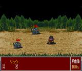 Nekketsu Tairiku: Burning Heroes SNES The scenery changes once a passion attack is performed