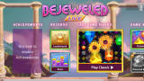 Bejeweled: Live Windows Apps Main menu (demo version)