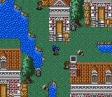 Nekketsu Tairiku: Burning Heroes SNES Laila in her starting town