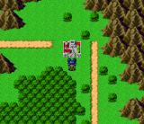 Nekketsu Tairiku: Burning Heroes SNES Laila's world map looks brighter