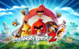 Angry Birds 2 Android Title screen