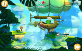 Angry Birds 2 Android A pig arrives in an air ship.