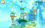 Angry Birds 2 Android Rain down golden ducks and you will finish the level quickly.