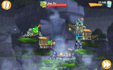 Angry Birds 2 Android Another boss level, now fighting King Pig.