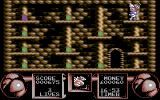 Flimbo's Quest Commodore 64 A room full of bonuses