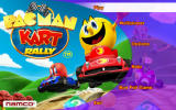 Pac-Man Kart Rally 3D Android Main menu (demo version)