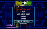 Pac-Man: Championship Edition Android Main menu (demo version)