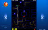 Pac-Man + Tournaments Android Eating ghosts after picking up a power pill.