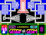 Gerry the Germ Goes Body Poppin' ZX Spectrum Gameplay