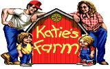 Katie's Farm Amiga Title screen