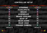 Super Trucks Racing PlayStation 2 The default controller setup.<br>This is accessed via the Options entry on the main menu. The same sub menu allows the player to customise their truck, set the skill level of the AI opponents etc